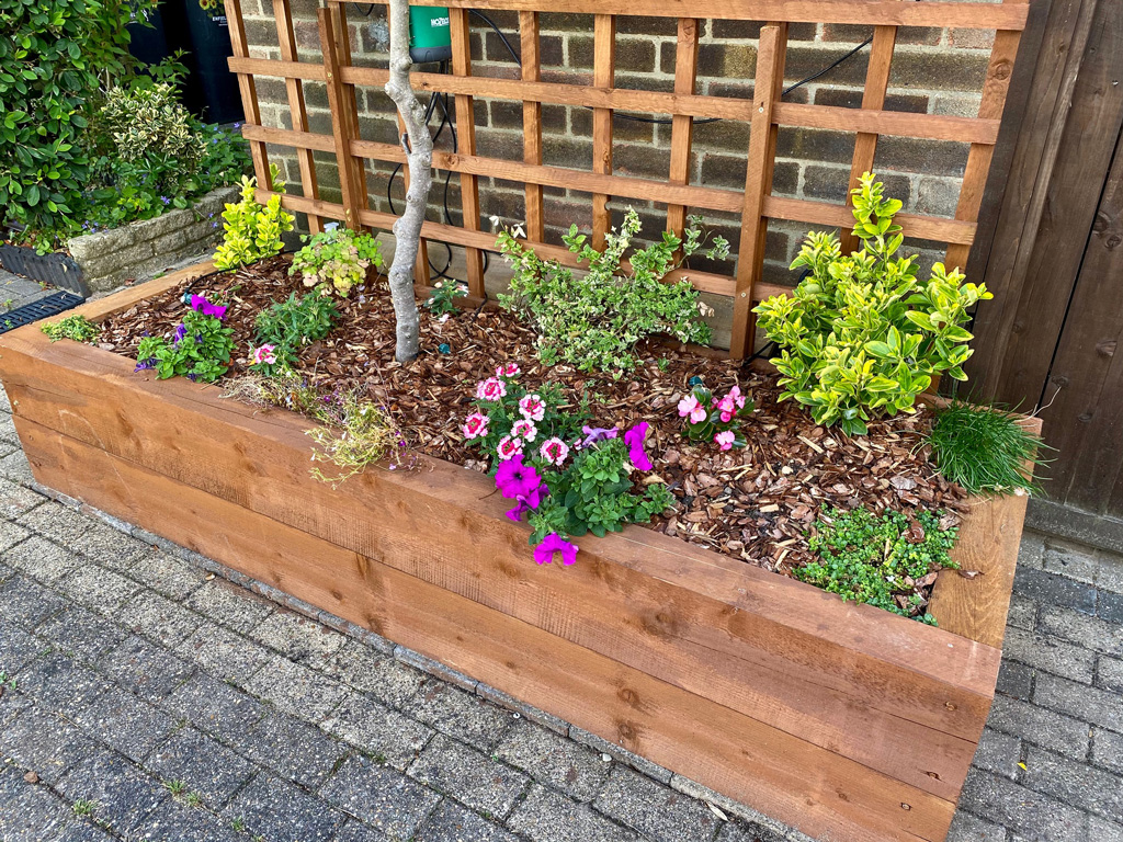 Gardens With Sleepers - Garden Sleeper Ideas by Our Customers